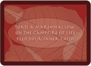 TOAST A MARSHMALLOW CARD