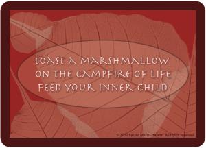 TOAST A MARSHMALLOW CARD